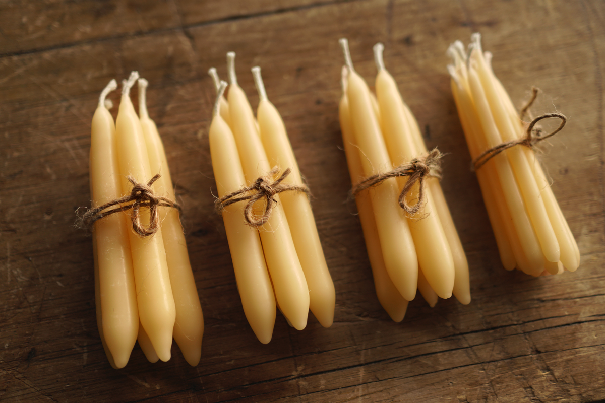Diy Hand Dipped Beeswax Candles